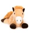 Magnetron warmte knuffel bruin paard 18 cm