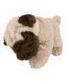Mopshond pluche knuffel 28 cm