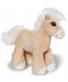 Nici knuffel paard licht bruin 15 cm