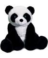 Pandabeer knuffel zittend 30 cm