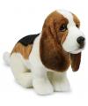 Pluche basset hond knuffel 30 cm