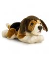 Pluche beagle 3 kleuren 35 cm