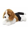 Pluche beagle honden knuffel 20 cm