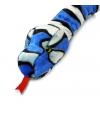Pluche blauwe slang 200 cm