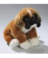 Pluche boxer hond knuffel 28 cm