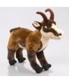 Pluche bruine geiten knuffel 24 cm
