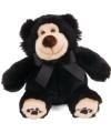Pluche bruno de beer zwart 30 cm