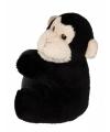 Pluche chimpansees klemmetje 10 cm
