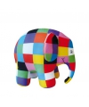 Pluche elmer de olifant knuffel 14 cm
