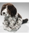 Pluche engelse pointer hond knuffel 27 cm