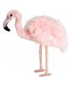 Pluche flamingo knuffel 38 cm
