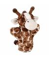 Pluche giraffe handpop 24 cm