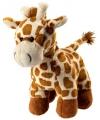 Pluche giraffe staand 18 cm