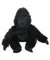Pluche gorilla apen knuffel 33 cm
