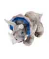 Pluche grijze triceratops 48 cm