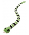 Pluche groene ratelslang 152 cm