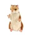 Pluche hamster knuffel 15 cm