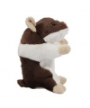 Pluche hamsters knuffel 13 cm bruin