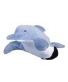 Pluche handpop dolfijn 22 cm