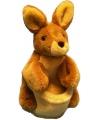 Pluche handpop kangoeroe