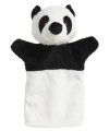 Pluche handpop panda 22 cm