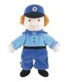 Pluche handpop politieman paul 22 cm