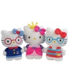 Pluche hello kitty prinses 25 cm