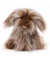 Pluche hond layla knuffel 25 cm