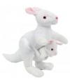 Pluche kangoeroe knuffel 23 cm