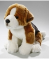 Pluche knuffel beagle hond zittend 25cm