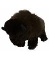 Pluche knuffel bizon 30 cm
