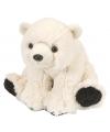 Pluche knuffel ijsbeer 20 cm