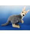 Pluche knuffel kangoeroe 33 cm