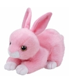 Pluche knuffel roze konijn haas ty beanie walker 33 cm