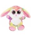 Pluche konijn knuffel rainbow