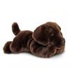 Pluche labrador knuffel bruin 30 cm