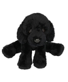 Pluche labrador knuffel hond zwart 12 cm