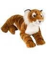 Pluche liggende tijger 40 cm