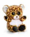 Pluche luipaard knuffel 15 cm