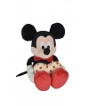 Pluche mickey mouse knuffel met hart