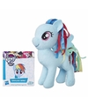 Pluche my little pony knuffel rainbow dash 13 cm