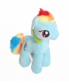 Pluche my little pony rainbow dash knuffel 17 cm