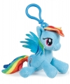 Pluche my little pony rainbow dash sleutelhanger 12 cm