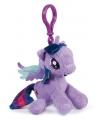 Pluche my little pony twilight sparkle sleutelhanger 12 cm