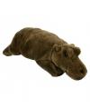 Pluche nijlpaard 25 cm