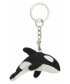 Pluche orka sleutelhanger 6 cm