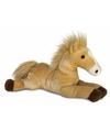 Pluche paarden veulens knuffel 30 cm