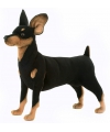 Pluche pincher knuffel hond 43 cm