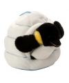 Pluche pinguin in iglo knuffel