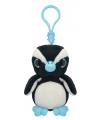 Pluche pinguin sleutelhanger 9 cm
